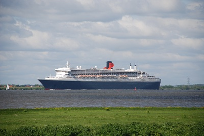 Queen Mary in Wedel